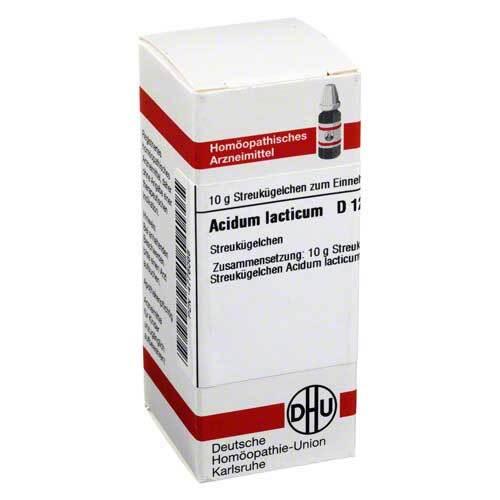 Acidum lacticum D 12 Globuli - 1