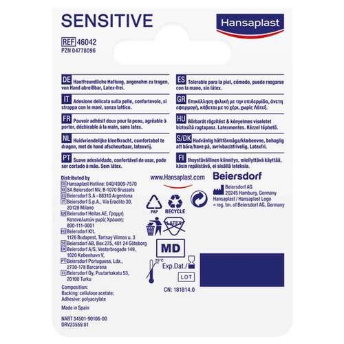 Hansaplast Fixierpflaster sensitive 5mx2,5cm - 2