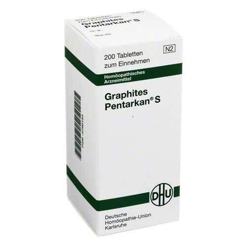 DHU Graphites Pentarkan S Tabletten - 1