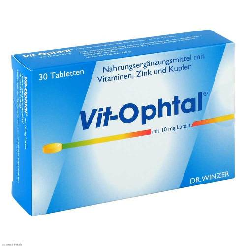 Vit Ophtal mit 10 mg Lutein Tabletten - 1