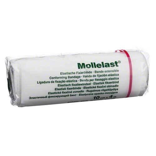 Mollelast 10cmx4m weiß - 1