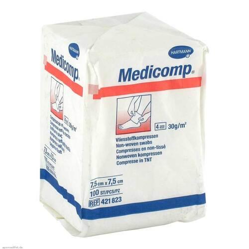 Medicomp Kompressen 7,5x7,5 cm unsteril - 1