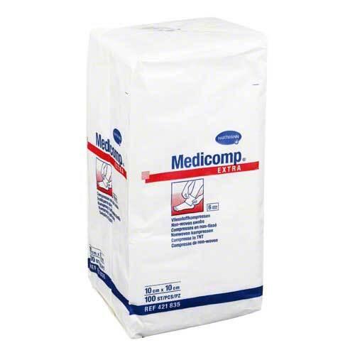 Medicomp Extra Kompressen 10x10 cm unsteril - 1