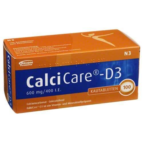 Calcicare D3 Kautabletten - 1