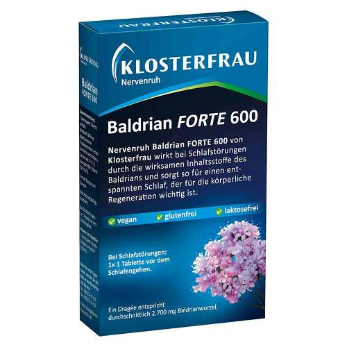 Klosterfrau BalDr. forte 600 Nervenruh überzogene Tabletten - 1