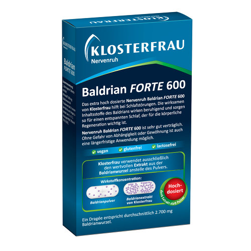 Klosterfrau BalDr. forte 600 Nervenruh überzogene Tabletten - 2