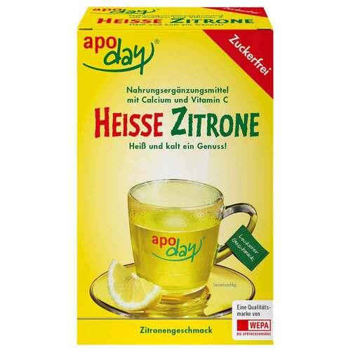 Apoday Heiße Zitrone Vitamin C und Calcium ohne Zucker Pulver - 1