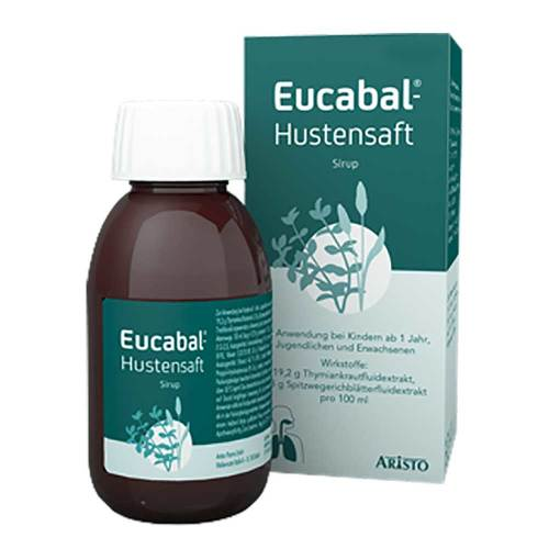 Eucabal Hustensaft - 1