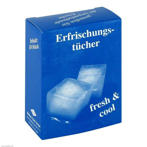 Erfrischungstuch Cool Fresh - 1