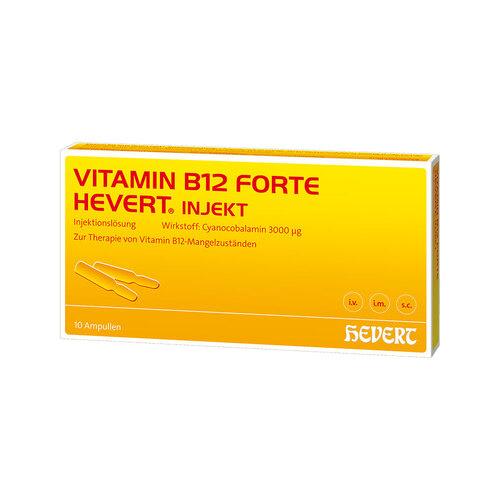 Vitamin B12 forte Hevert Injekt Ampullen - 1