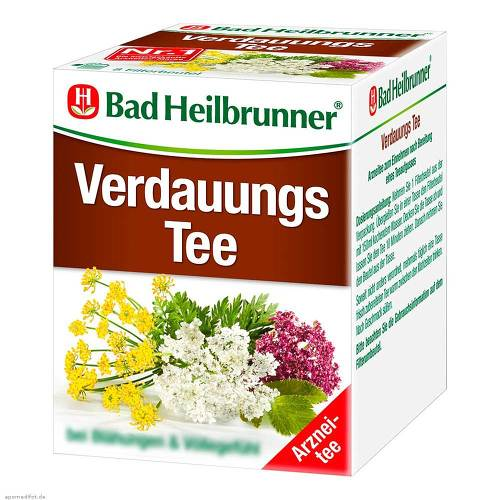 Bad Heilbrunner Tee Verdauung Filterbeutel - 1