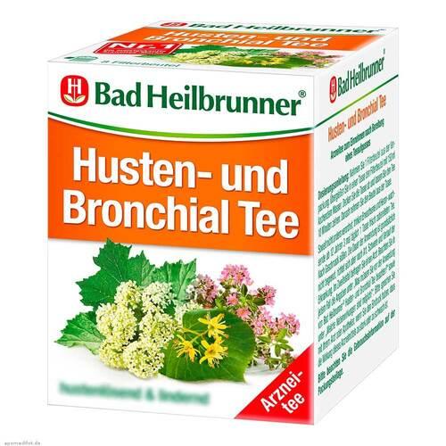 Bad Heilbrunner Tee Husten und Bronchial N Beutel - 1