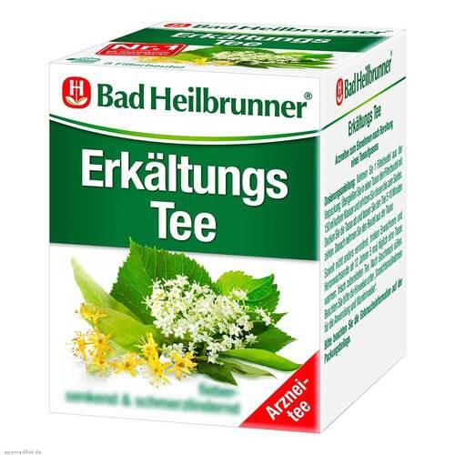 Bad Heilbrunner Tee Erkältung N Filterbeutel - 1