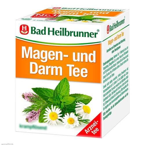 Bad Heilbrunner Tee Magen und Darm N Filterbeutel - 1