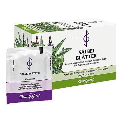 Salbeiblätter Tee Filterbeutel - 1