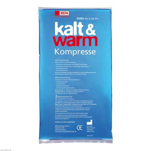 Kalt-Warm Kompresse 21x40cm - 2
