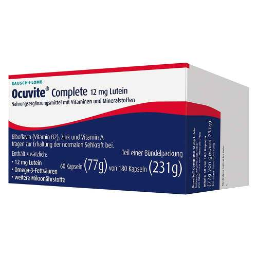 Ocuvite Complete 12 mg Lutein - 1