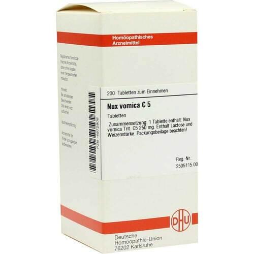 DHU Nux vomica C 5 Tabletten - 1