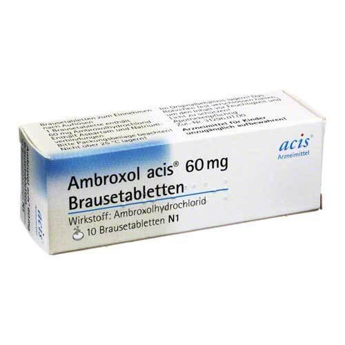 Ambroxol acis 60 mg Brausetabletten - 1