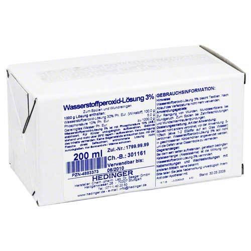 Wasserstoffperoxid-Lösung 3% Standardzulassung - 1