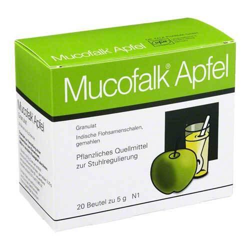 Mucofalk Apfel Granulat Beutel - 1