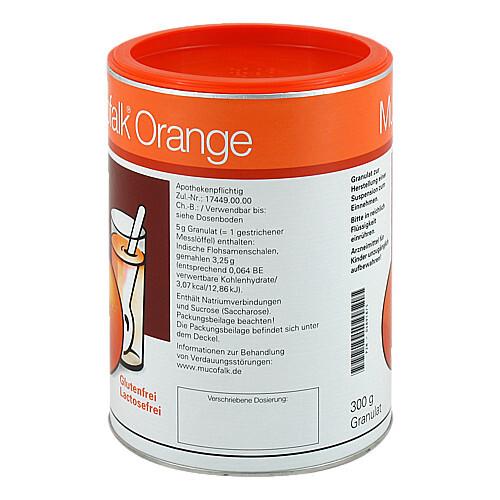 Mucofalk Orange Granulat Dose - 4