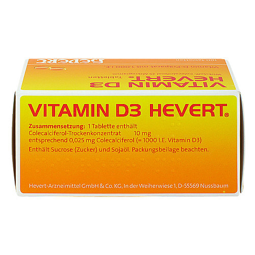 Vitamin D3 Hevert Tabletten - 2