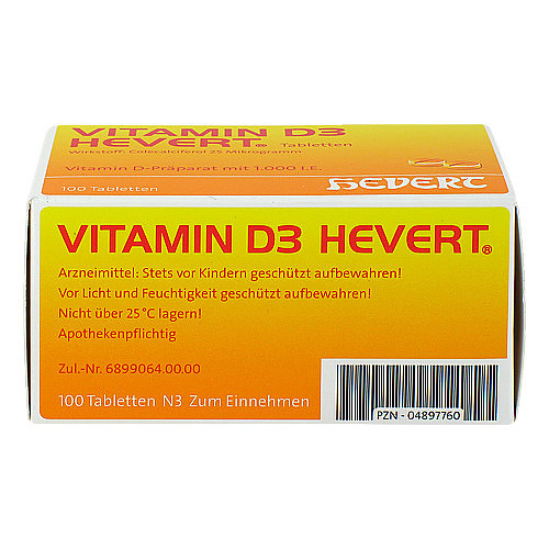 Vitamin D3 Hevert Tabletten - 3