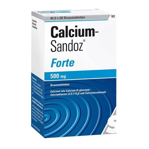 Calcium Sandoz forte Brausetabletten - 1