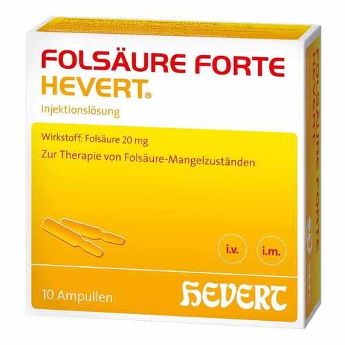 Folsäure forte Hevert Ampullen - 1