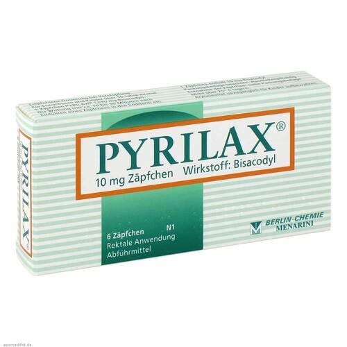 Pyrilax Suppositorien 10 mg - 1