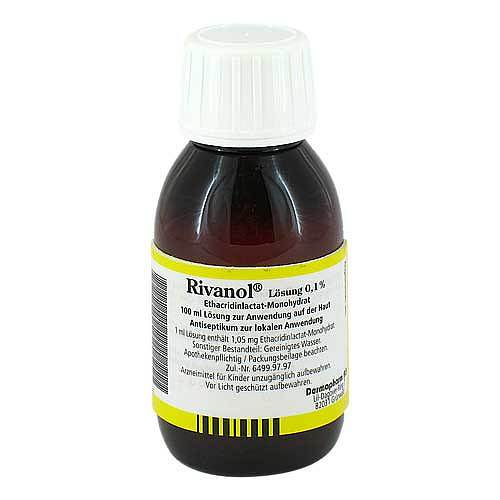 Rivanol Lösung 0,1% - 1