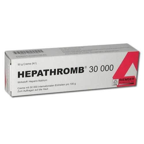 Hepathromb Creme 30.000 I.E. - 1