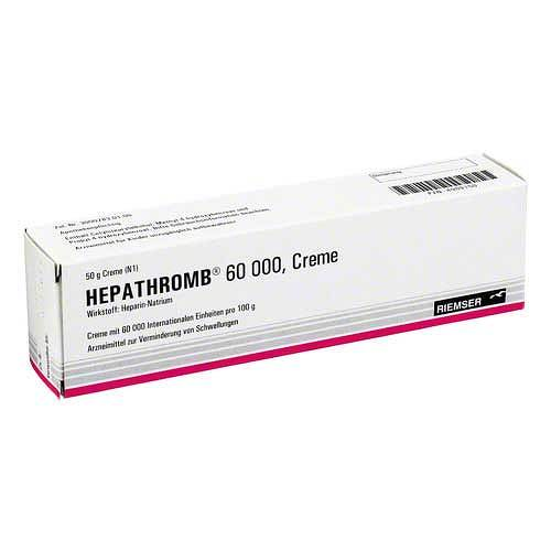 Hepathromb Creme 60.000 I.E. - 1