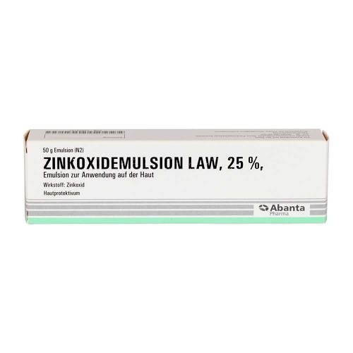 Zinkoxid Emulsion Law - 1