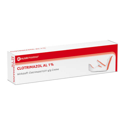 Clotrimazol AL 1% Creme - 1