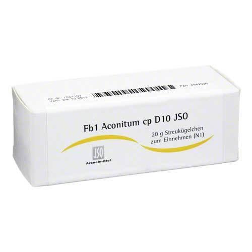 JSO JKH Fiebermittel Fb 1 Aconitum cp D 10 Globuli - 1