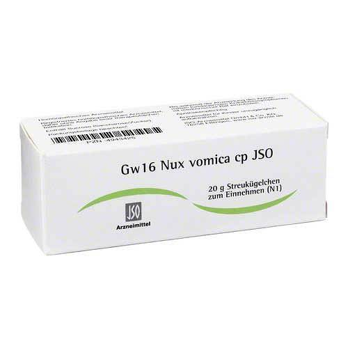 JSO JKH Gewebemittel Gw 16 Nux vomica cp Globuli - 1