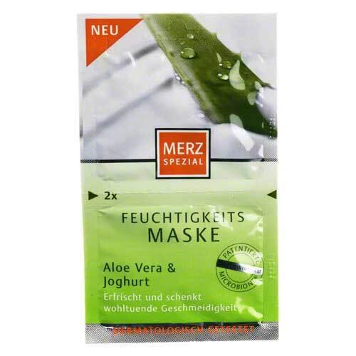 Merz Spezial Feuchtigk.Maske Aloe Vera / Jogh. - 1