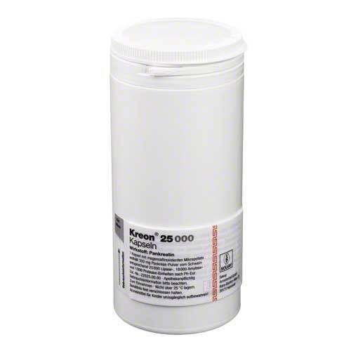 Kreon 25.000 Hartkapseln mit magensaftresistent überzogene Pellets - 1