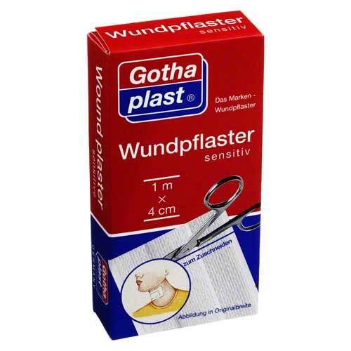 Gothaplast Wundpflaster sensitiv 4 cm x 1 m geschnitten - 1