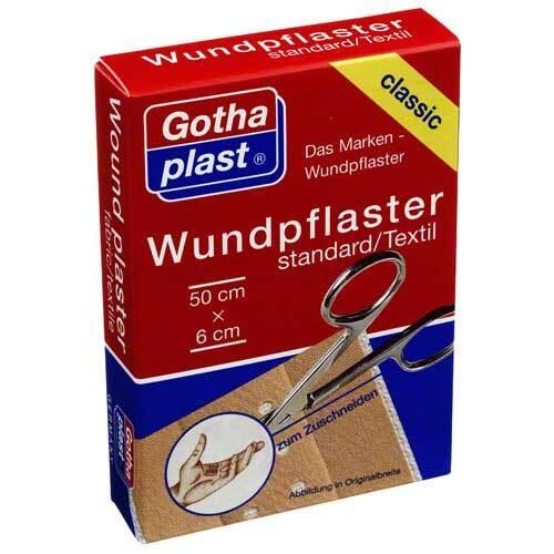 Gothaplast Wundpflaster standard 6x50 cm geschnitten - 1