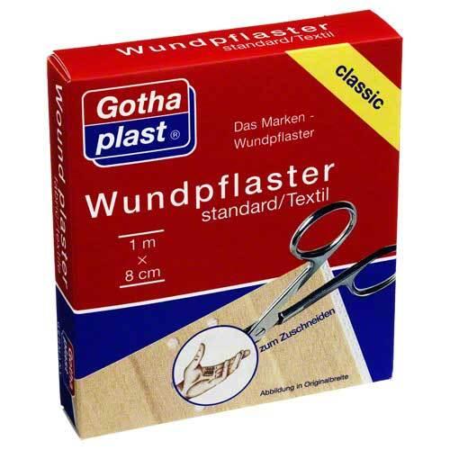 Gothaplast Wundpflaster standard 8 cm x 1 m - 1