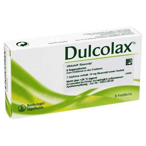 Dulcolax Suppositorien - 1