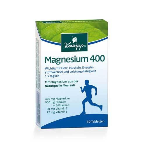 Kneipp Magnesium 400 Tabletten - 1