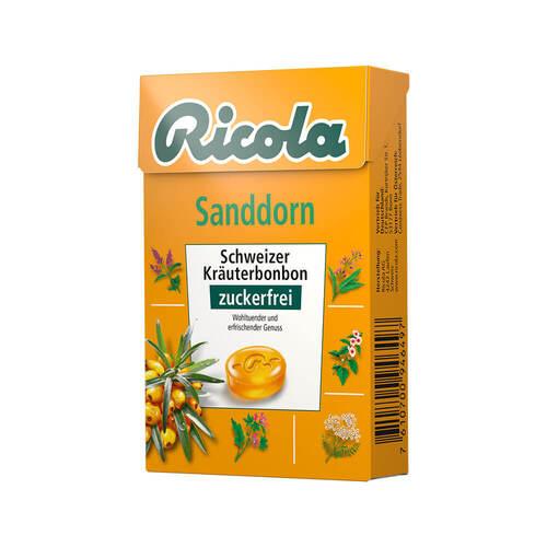 Ricola ohne Zucker Box Sanddorn Bon - 1