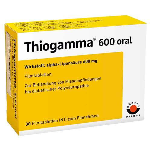 Thiogamma 600 oral Filmtabletten - 1