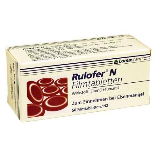 Rulofer N Filmtabletten - 1