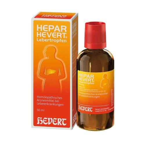 Hepar Hevert Lebertropfen - 1