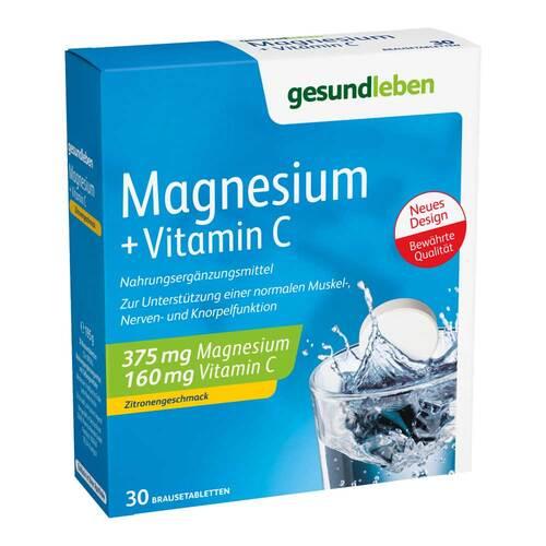 Gesund Leben Magnesium + Vitamin C Brausetabletten - 1